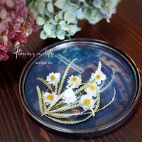 花かんざしドームガラスアレンジメント