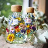 小花のハーバリウム イエロー  コチ瓶