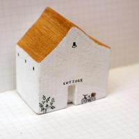【奥田千珠】 白い家(S-50)
