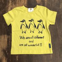 【ヒネモスノタリ】 ペンギン Tシャツ 子ども用