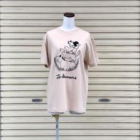 【ヒネモスノタリ】 ブレーメン Tシャツ ベージュ