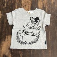 【ヒネモスノタリ】 ブレーメン Tシャツ 子ども用   グレー