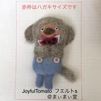 【Joyful Tomato】  フエルトブローチ s