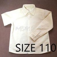 短/長袖シャツ♡サイズ110【型紙ダウンロード販売】