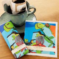 Artisanソルト&キャラメルチョコ レートセット&スペシャリティ ドリップコーヒー(小鳥たち)_A20-66