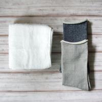 【父の日限定セット】 選べるペルーコットン靴下 と 100年培った伝統技術でつくられた専顔タオル の セット