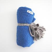 アルパカブランケット ブルー_OC008-BL