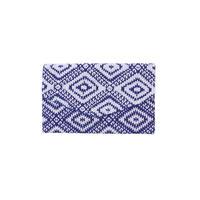 IKATビーズ刺繍クラッチ BLUE