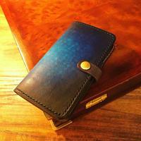 SmartPhone case Ⅰ / Cobalt blue