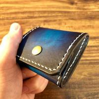 Coin purse / Cobalt blue