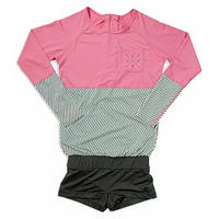 Rash Guard With Hot Pants(ラッシュガード1体型) 21W11/61S