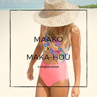 MAAKO×MAKA-HOUモデル / モノキニ