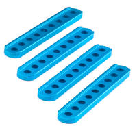 Beam0412-076-Blue (4-Pack) 単穴ブロック 0412-076(4本セット)60707