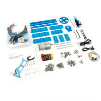 ロボットアーム改造パック Robot Arm Add-on Pack for Starter Robot Kit-Blue  makeblock 98000