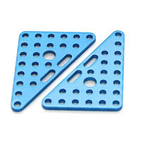 Triangle Plate 6x8-Blue(Pair) (三角プレート)61408