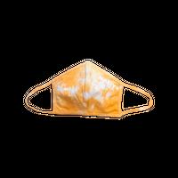 """Valencia Orange"" Tie Dye Mask 【女性サイズ】"