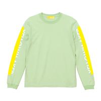 """YELLOWMAKER"" LS T-shirts【Lime】"