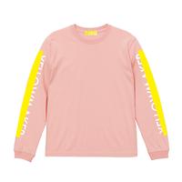 """YELLOWMAKER"" LS T-shirts【Peach】"