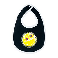 MAKEY SMILEY [ Yellow ] / Bib[ Black ]