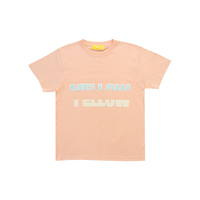MELLOW YELLOW [ Mellow Green ] / T-shirts [ Apricot ]