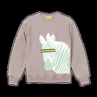 "【数量限定予約販売】""Horse owner"" Sweatshirts【Smoky Pink】"