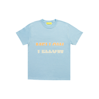 MELLOW YELLOW [ Mellow Orange ] / T-shirts [ Blue ]