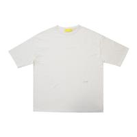2 POINT MAKEY LOGO  / Big silhouette T-shirts [ White ]
