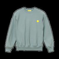 "【数量限定予約販売】""MAKEY SMILEY"" Sweatshirts【Smoky Green】"