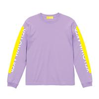 """YELLOWMAKER"" LS T-shirts【Grape】"