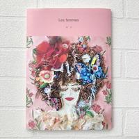 【ZINE 作品集 本 刺繍】Les femmes N° 3