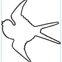オーダー専用 シルエット 鳥 真鍮