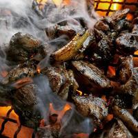 種鶏もも炭火焼き100g【冷凍】