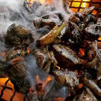 種鶏もも肉味付き1kg【冷凍】