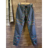 makufuri  Lite-Shell Easy Pants〈Mix-rainbow〉