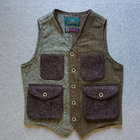 makufuri Multi Tweed Vest〈Brawn〉