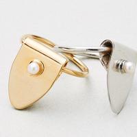 TAG RING pearl