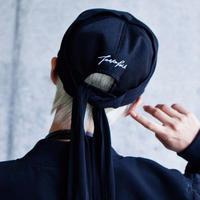 SHOKI JOETAKI ロゴバック刺繍 ロングストリングキャップ