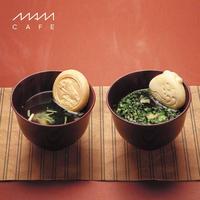 お吸い物最中 MAM OSUIMONO SET 02(6個入り):たけのこ/あさり/海老/湯葉