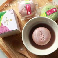 お汁粉最中 MAM SHIRUKO SET(2個入り):あずき/抹茶