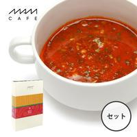 スープ最中 MAM SPICY SOUP SET 02(6個入り):スパイシーカレー/グリーンカレー/チゲ/チリトマト