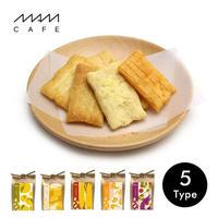 【3月発売予定】MAM OKAKI:ゆず塩/チーズ/やきもろこし/エビマヨ/トムヤムクン