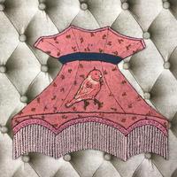 ランプシェード風オブジェ  ピンク