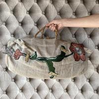 お花の籠バッグ