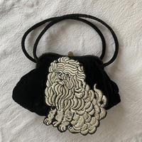 古いベルベットのバッグ