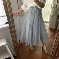 エアリーチュールスカート