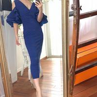 ドラマチックフリル ドレス