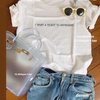 ホワイトロゴTシャツ