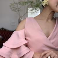 ドラマティックフリル ドレス