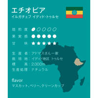 エチオピア ナチュラル 浅煎り シナモンロースト 500g