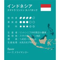 インドネシア 中深煎り シティロースト 500g